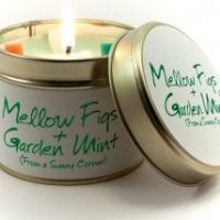 Lily-Flame Candles - Mellow Figs & Garden Mint